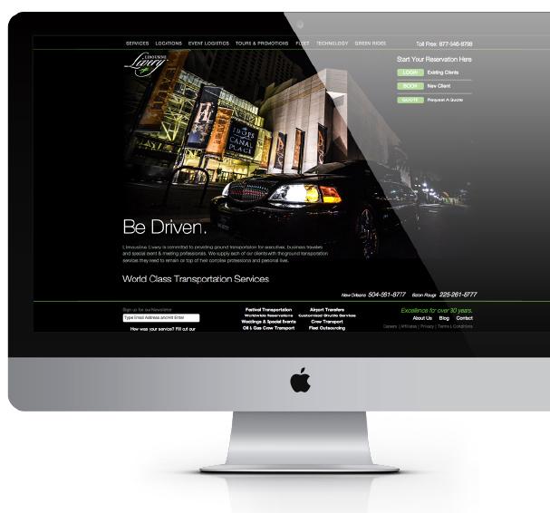 LimoLivery Website