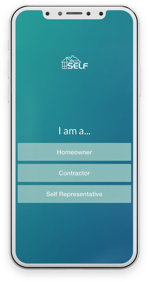 SELF App Screen