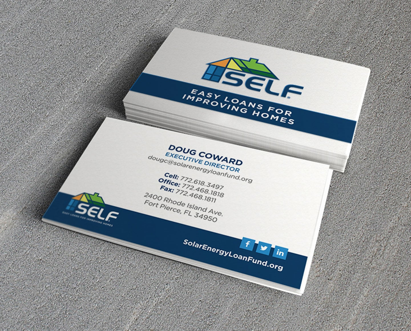 SELF Business Cards