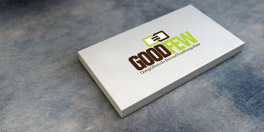 Identity and Logo Design - Good Few Business Cards