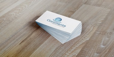 Louisiana Logo Design - Claromente Business Cards