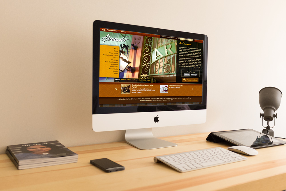 Website Design and Development New Orleans