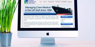 Central Healthcare Services Website Design and Development