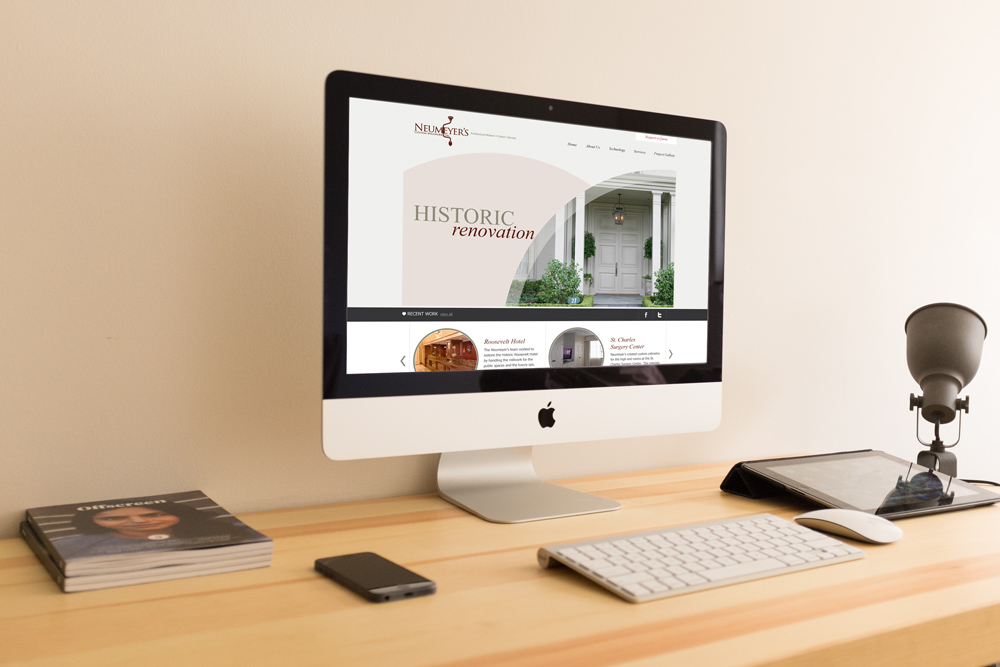 Website Design and Development - Neumeyer Website
