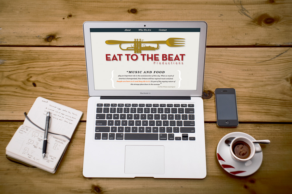 Website Design and Development - Eat to the Beat