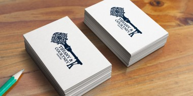 Tiffany and Courtney K Realtors Business Cards New Orleans