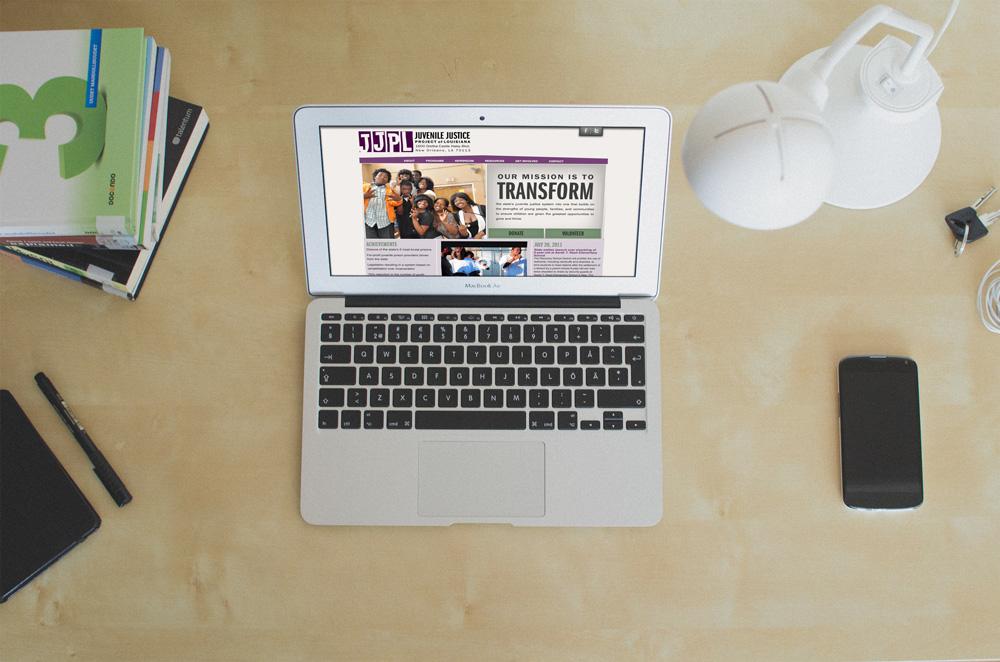 JJPL New Orleans Website Development and Design