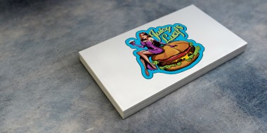 New Orleans Logo Design - Juicy Lucy Business Cards