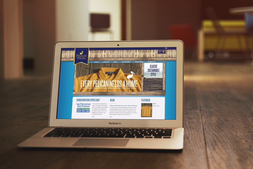 Pelican Polo Website Design and Development