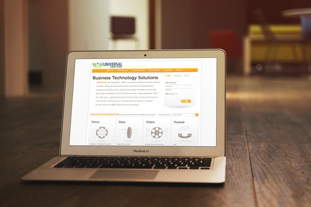 Website Design and Development- Universal Com One Website