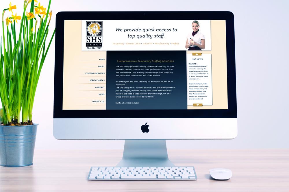 New Orleans Website Development and Design - SHS Website