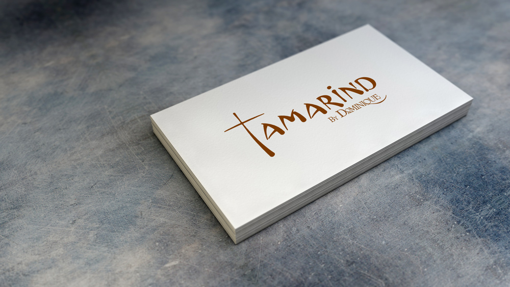 Identity and Logo Design - Tamarind Business Cards