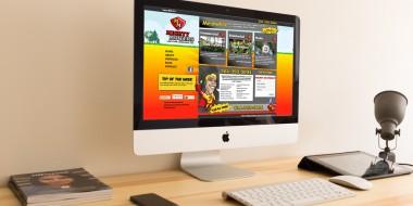 Website Design and Development - Mighty Mowers Website