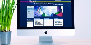 Website Development and Design - Arcor Website