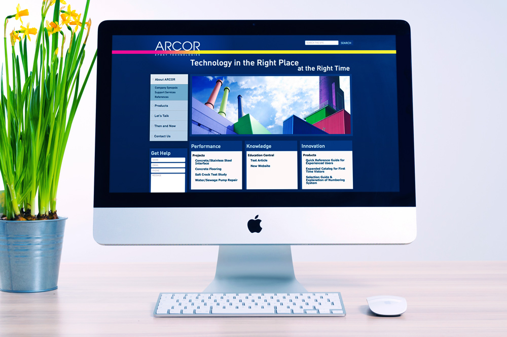 Website Development and Design - Arcor Website