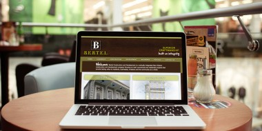 New Orleans Website Design and Development - Bertel Website