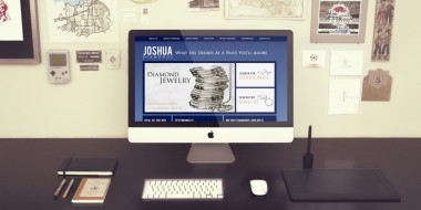 Website Design and Development - Joshua Diamonds Website