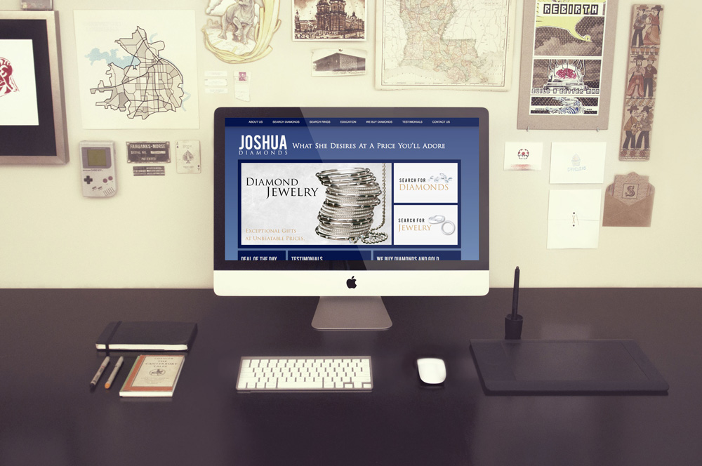 Website Design and Development - Joshua Diamonds Website