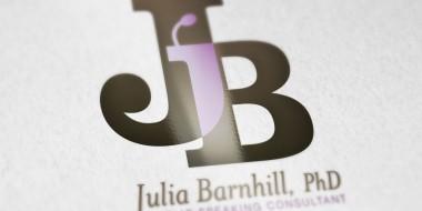 Identity and Logo Design - Julia Barnhill Business Cards