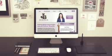 Website Development and Design - Julia Barnhill Website