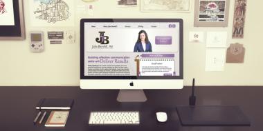 Website Development and Design - Julia Barnhill Website