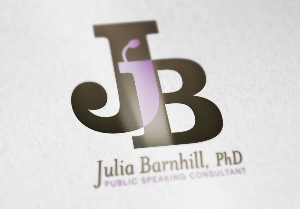 Identity and Logo Design - Julia Barnhill Business Cards