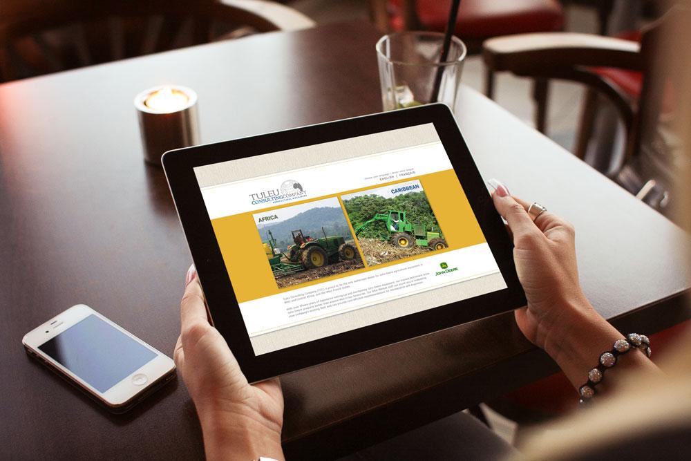 Website Design and Development - Tuleu Website