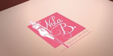 Identity and Logo Design - Nola B Business Cards