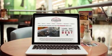 Website Design and Development - Standard Glass Website