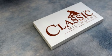 New Orleans Identity and Logo Design - Classic Millworks Business Cards