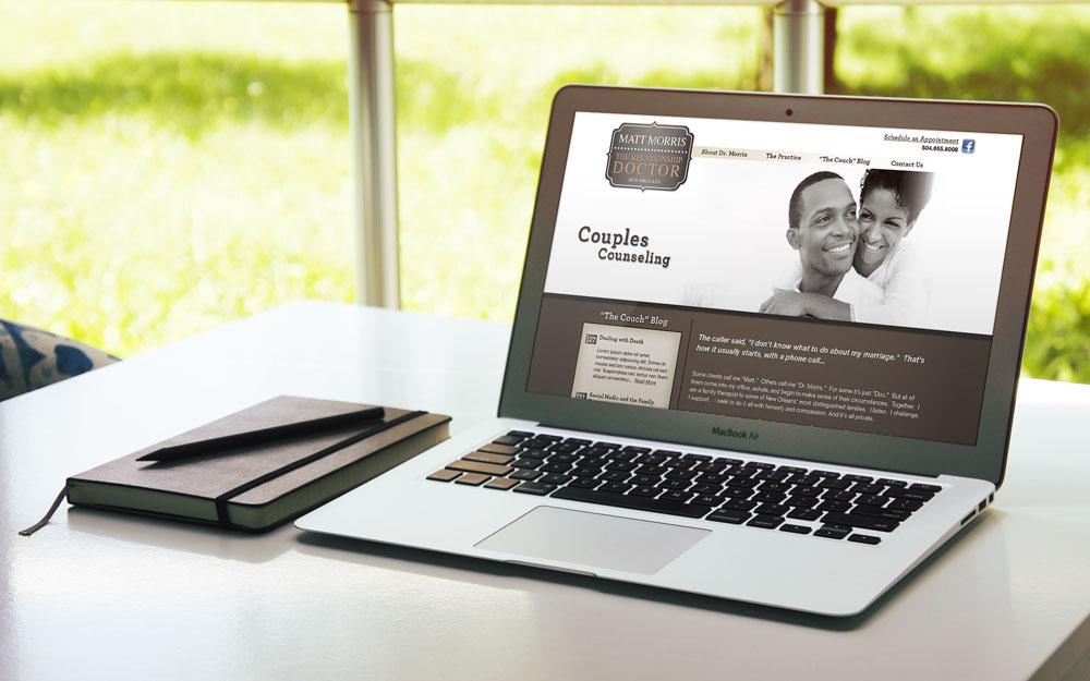 Website Design and Development - Matt Morris Website