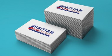New Orleans Identity and Logo Design - Haitian Flag Festival Business Cards