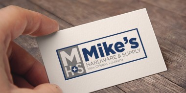 New Orleans Business Cards - Mike's Hardware