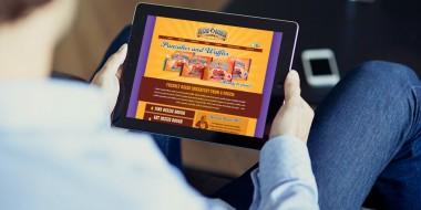 New Orleans Mobile Website Design and Development - Dezzie Dough Website