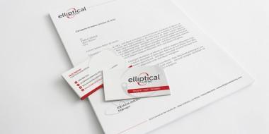 New Orleans Identity and Logo Design - Elliptical Hosting