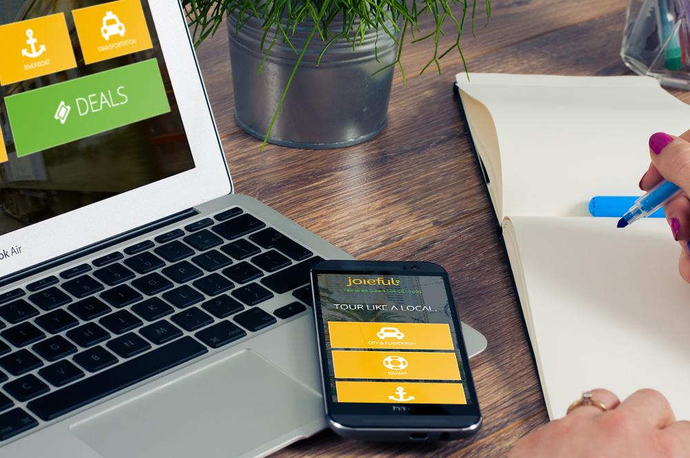 New Orleans Mobile Website Development and Design - Joieful Website