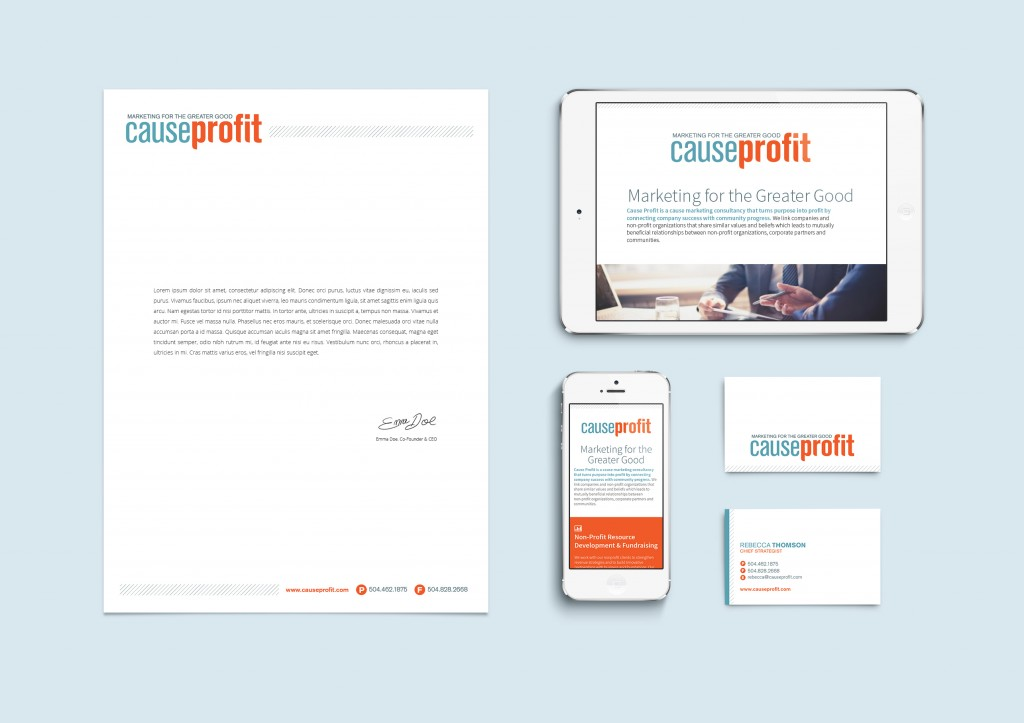 New Orleans Website Design and Development - Cause Profit Identity and Website