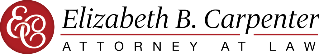 New Orleans Identity and Logo Design - Elizabeth B Carpenter Logo