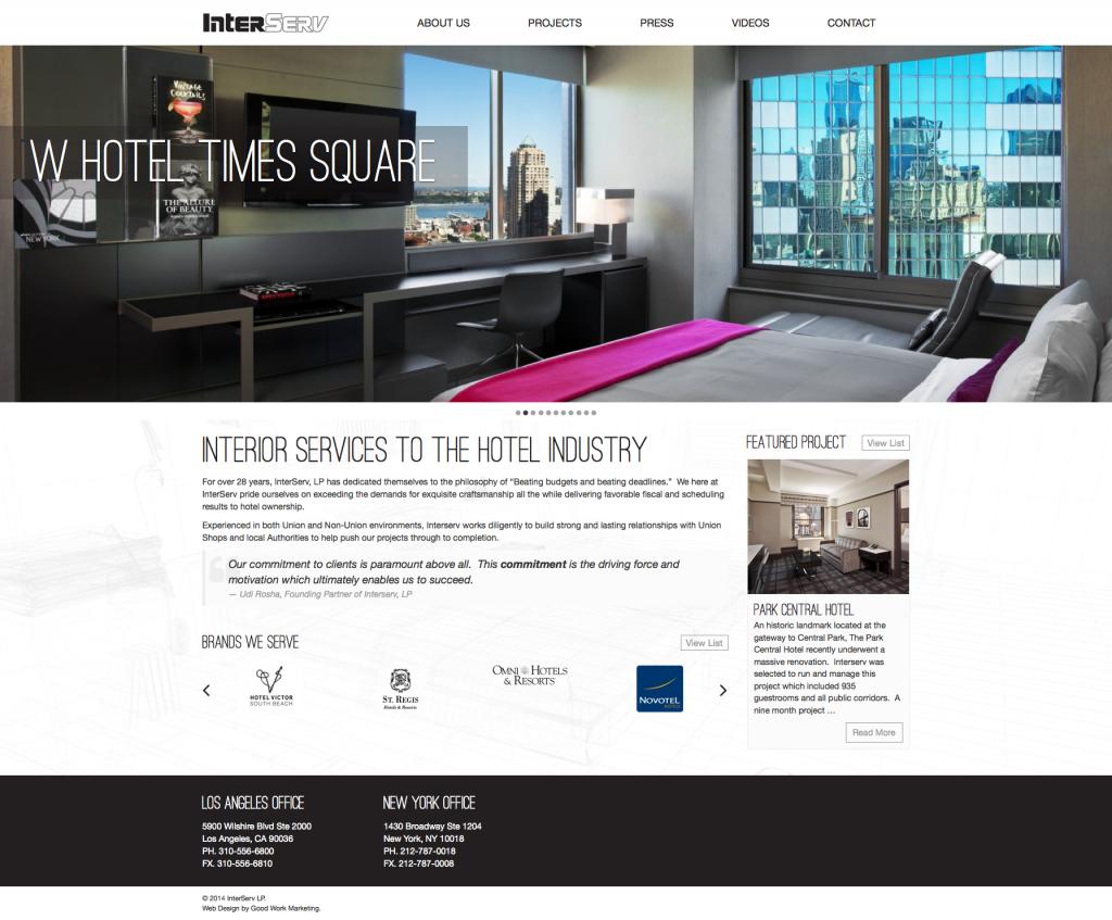 New Orleans Website Development and Design - Interserv Website