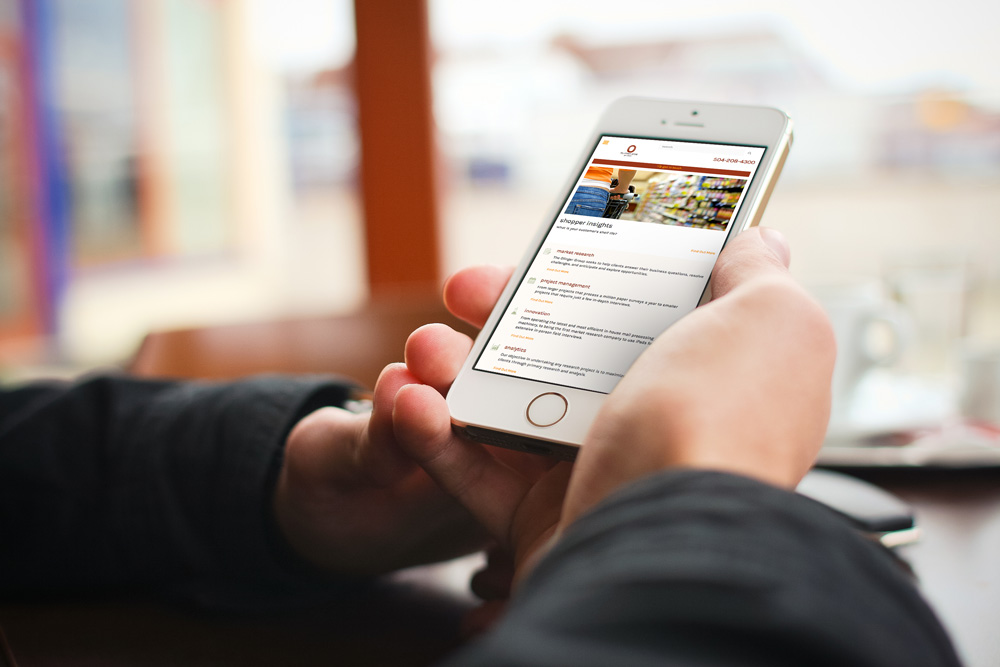 New Orleans Mobile Website Design and Development - The Olinger Group