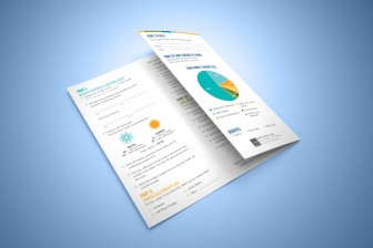 New Orleans Marketing Collateral - Creative Advertising - PosiGen Trifold Brochure