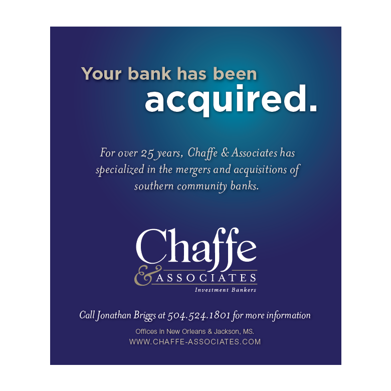 New Orleans Creative Advertising - Chaffe and Associates Print Work