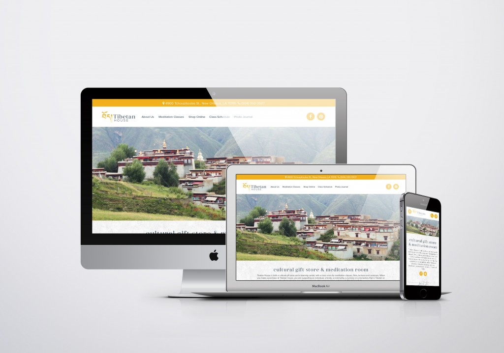 New Orleans Website Development - Tibetan House