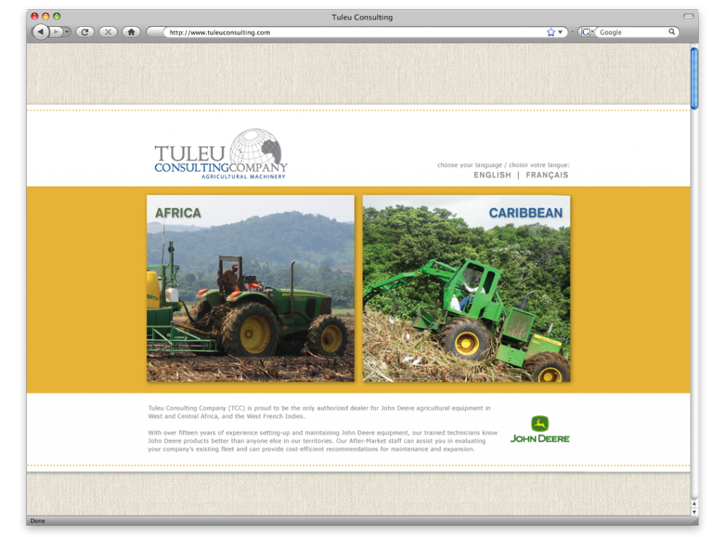 New orleans website design website development tuleu for Design and development consultants