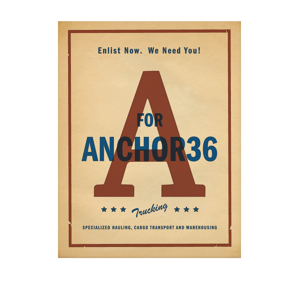 New Orleans Identity and Logo Design - Anchor36