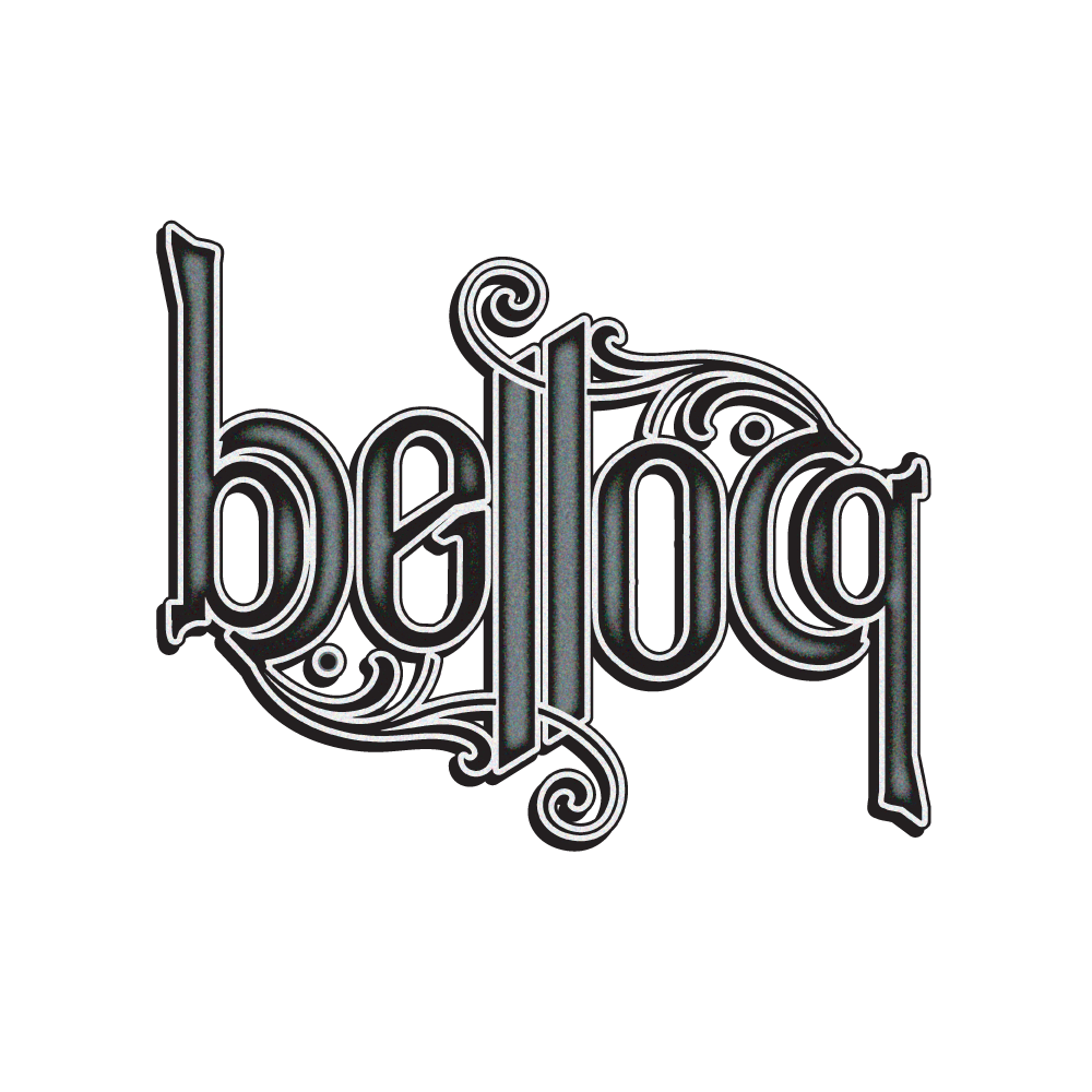 New Orleans Identity and Logo Design - Bellocq Logo