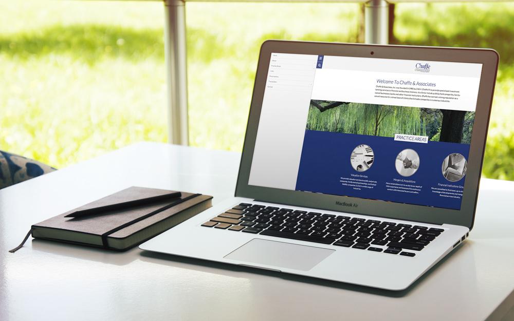 New Orleans Website Design and Development - Chaffe and Associates Website