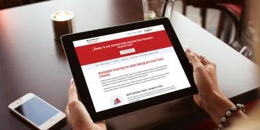 Louisiana Tablet Website Design and Development - Elliptical Hosting Website