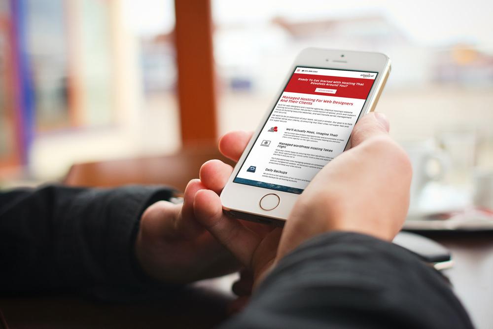 Mobile Website Design and Development - Elliptical Hosting Website