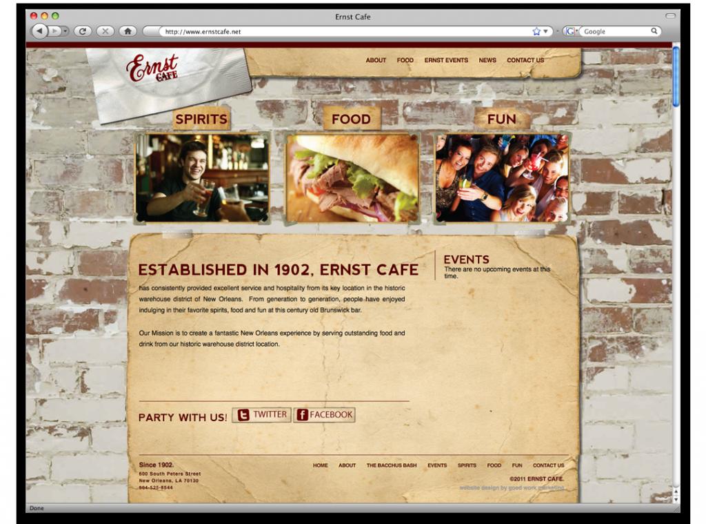 New Orleans Website Design